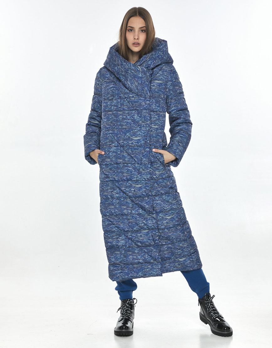 Удобная зимняя куртка с рисунком Vivacana на подростка-девушку 9470/21 фото 1