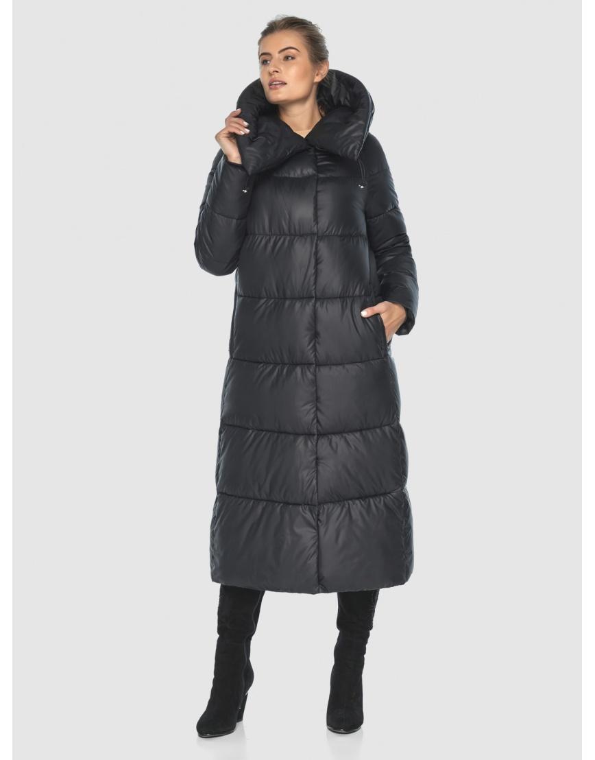 Куртка чёрная практичная подростковая Ajento для зимы 21550 фото 5