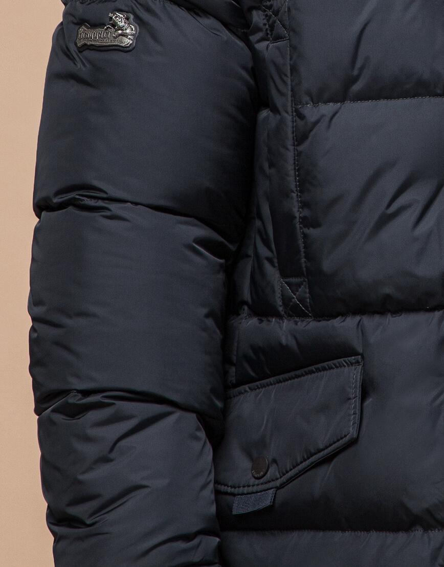 Куртка мужская большого размера графитовая модель 2084 фото 5