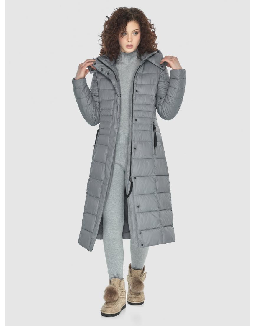 Куртка женская Moc серого цвета M6430 фото 2