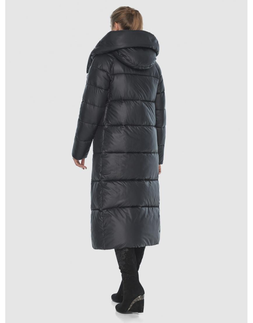 Куртка чёрная практичная подростковая Ajento для зимы 21550 фото 4