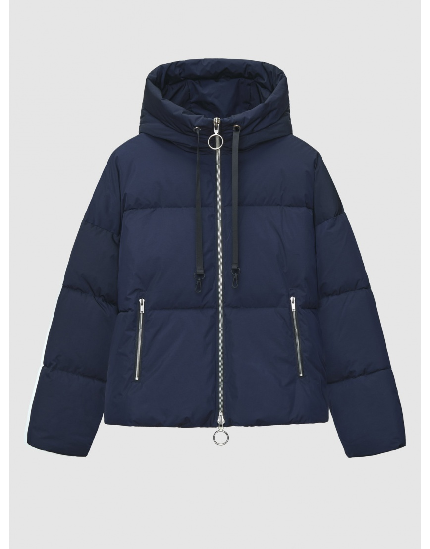 48 (M) – последний размер – синяя куртка с капюшоном женская Braggart зимняя 200044 фото 1