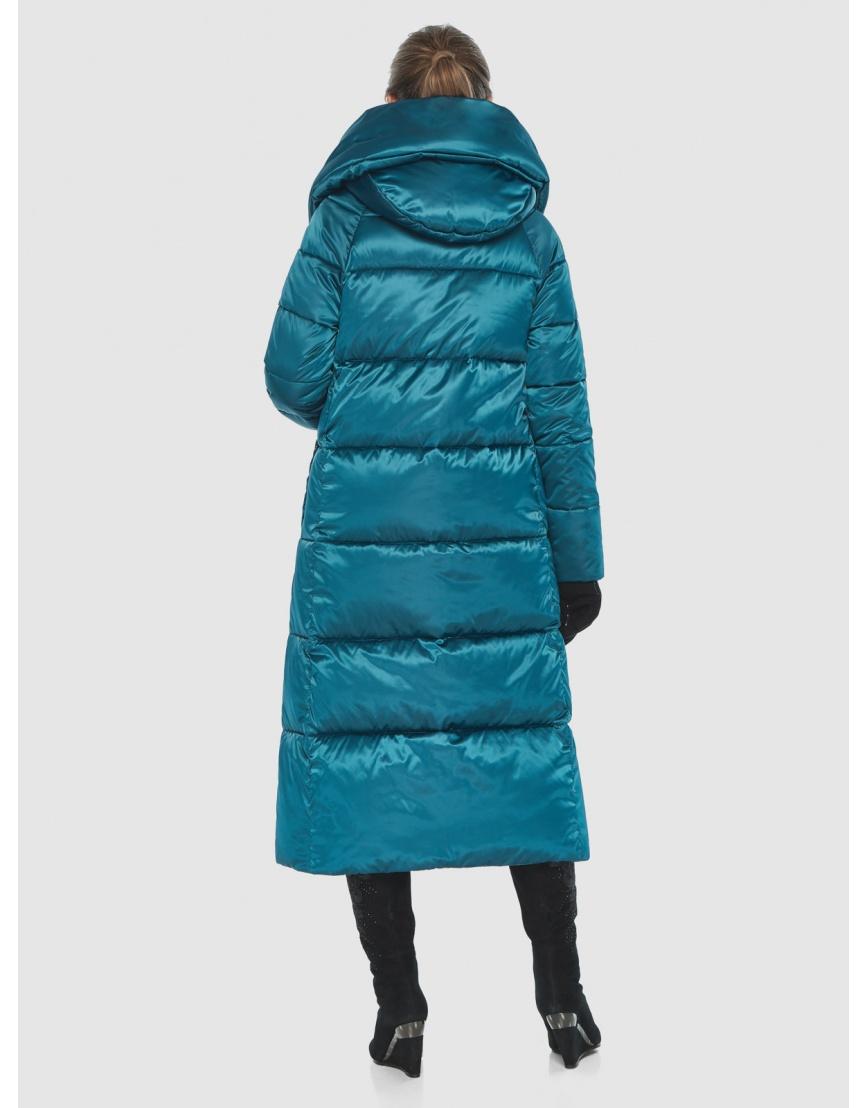 Куртка комфортная подростковая Ajento зимняя аквамариновая 21550 фото 4