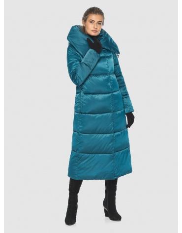 Куртка комфортная подростковая Ajento зимняя аквамариновая 21550 фото 1