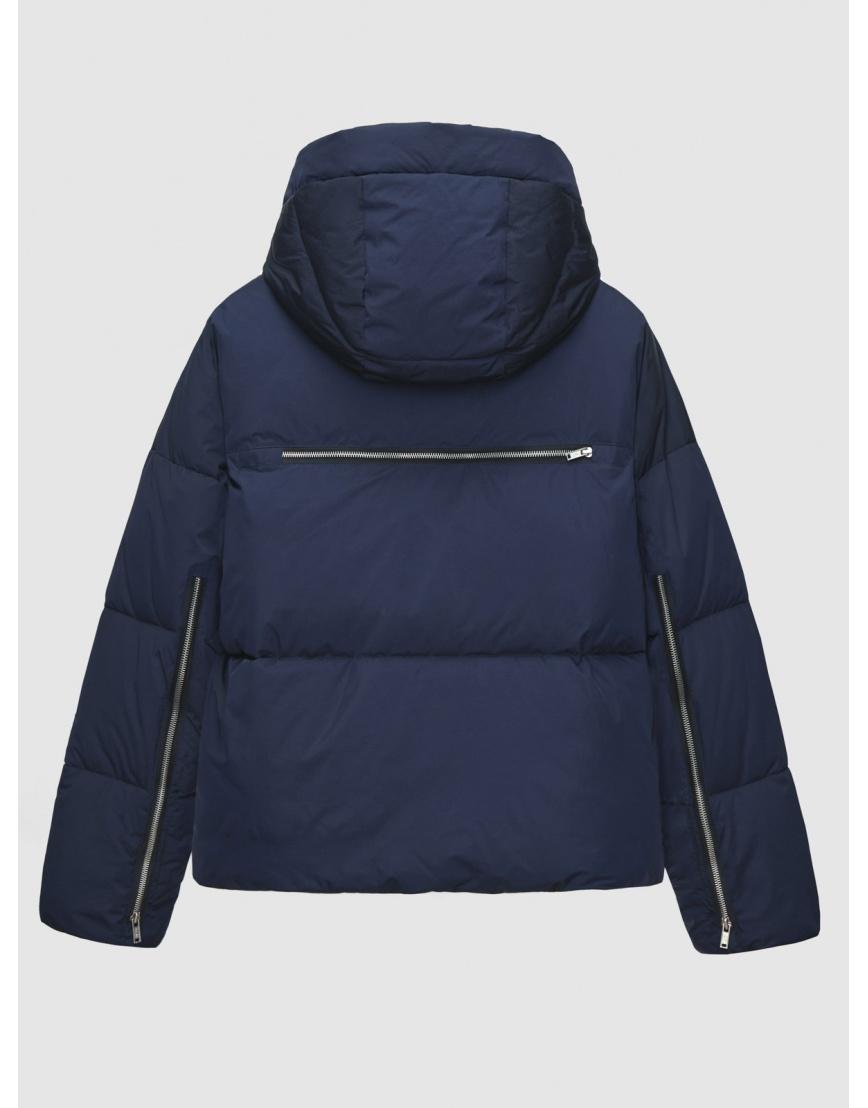 48 (M) – последний размер – синяя куртка с капюшоном женская Braggart зимняя 200044 фото 2