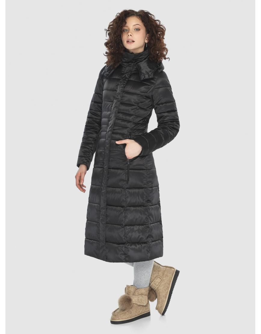Куртка Moc комфортная женская чёрная M6430 фото 2