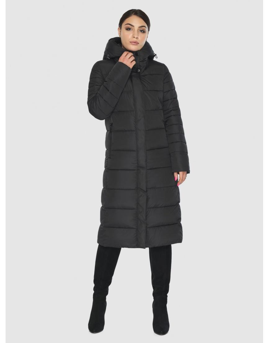 Куртка Wild Club чёрная для подростков зимняя 538-74 фото 1