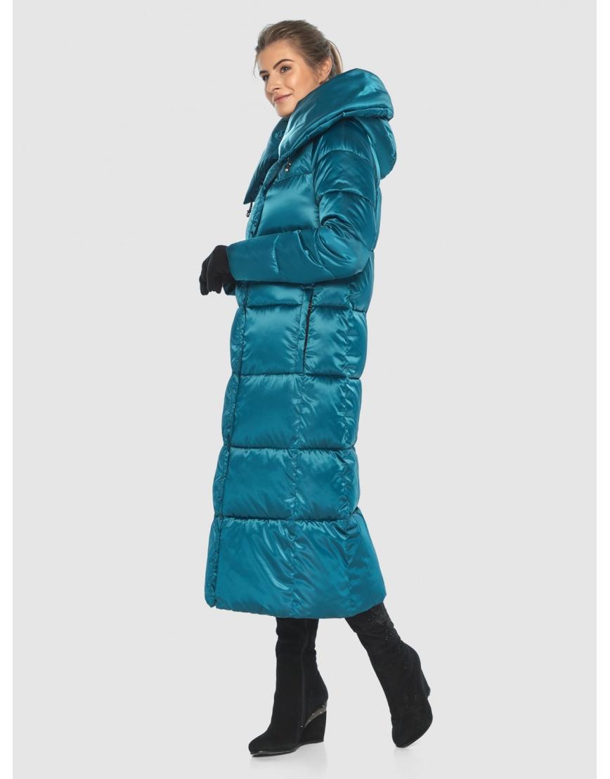 Куртка комфортная подростковая Ajento зимняя аквамариновая 21550 фото 2