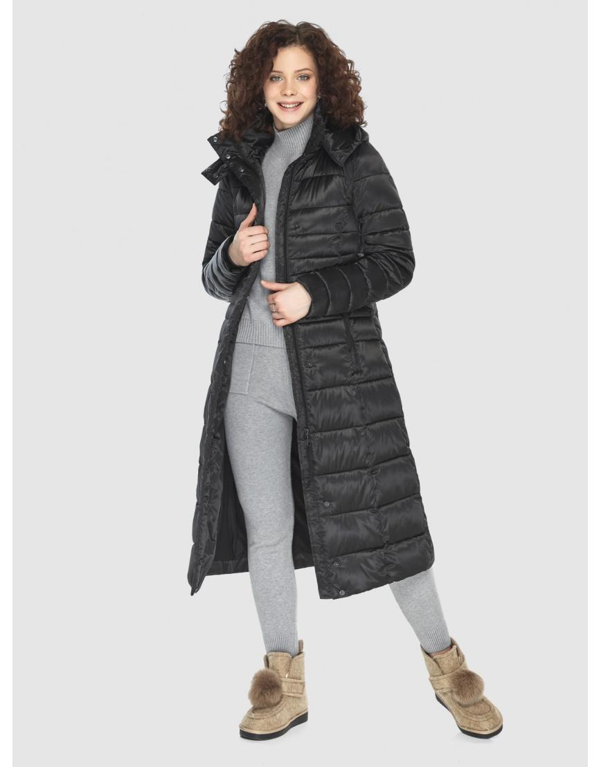 Куртка Moc комфортная женская чёрная M6430 фото 6