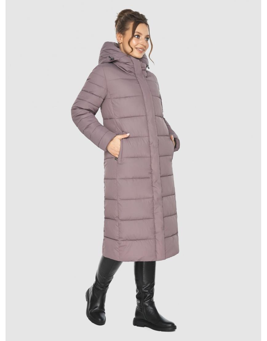 Куртка длинная женская Ajento цвет пудра 21152 фото 1