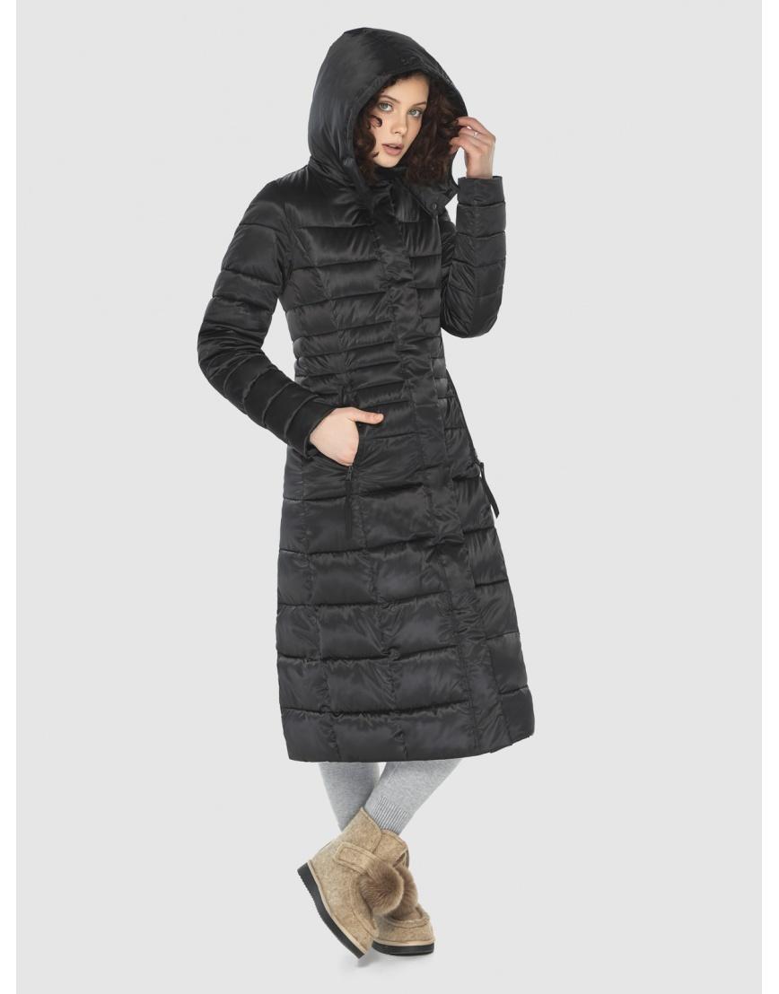 Куртка Moc комфортная женская чёрная M6430 фото 3