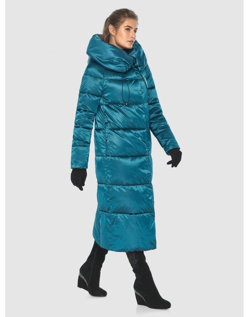 Куртка комфортная подростковая Ajento зимняя аквамариновая 21550 фото 5
