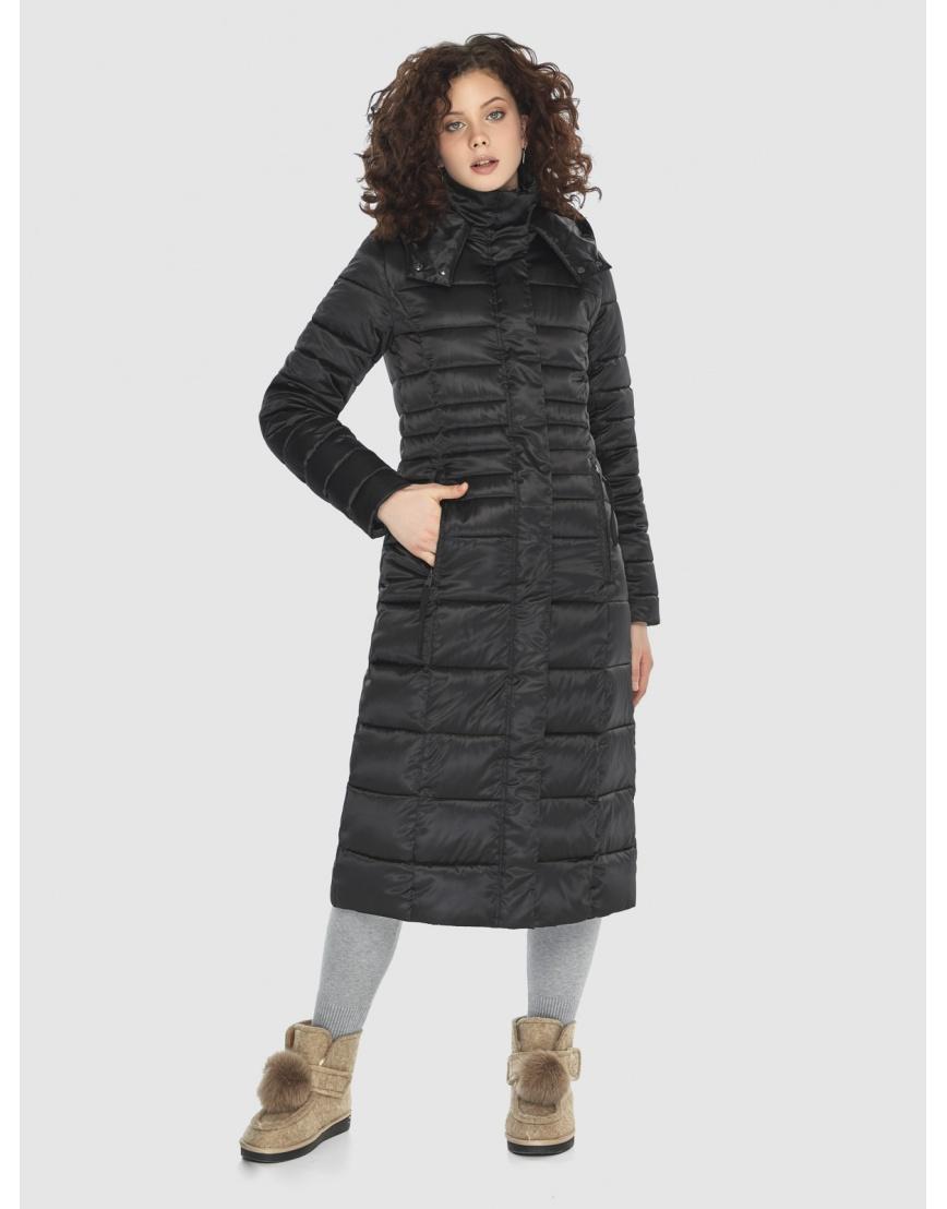 Куртка Moc комфортная женская чёрная M6430 фото 5