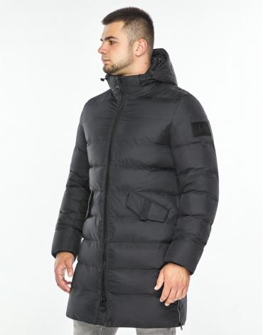 Графитовая куртка удобного фасона модель 26350