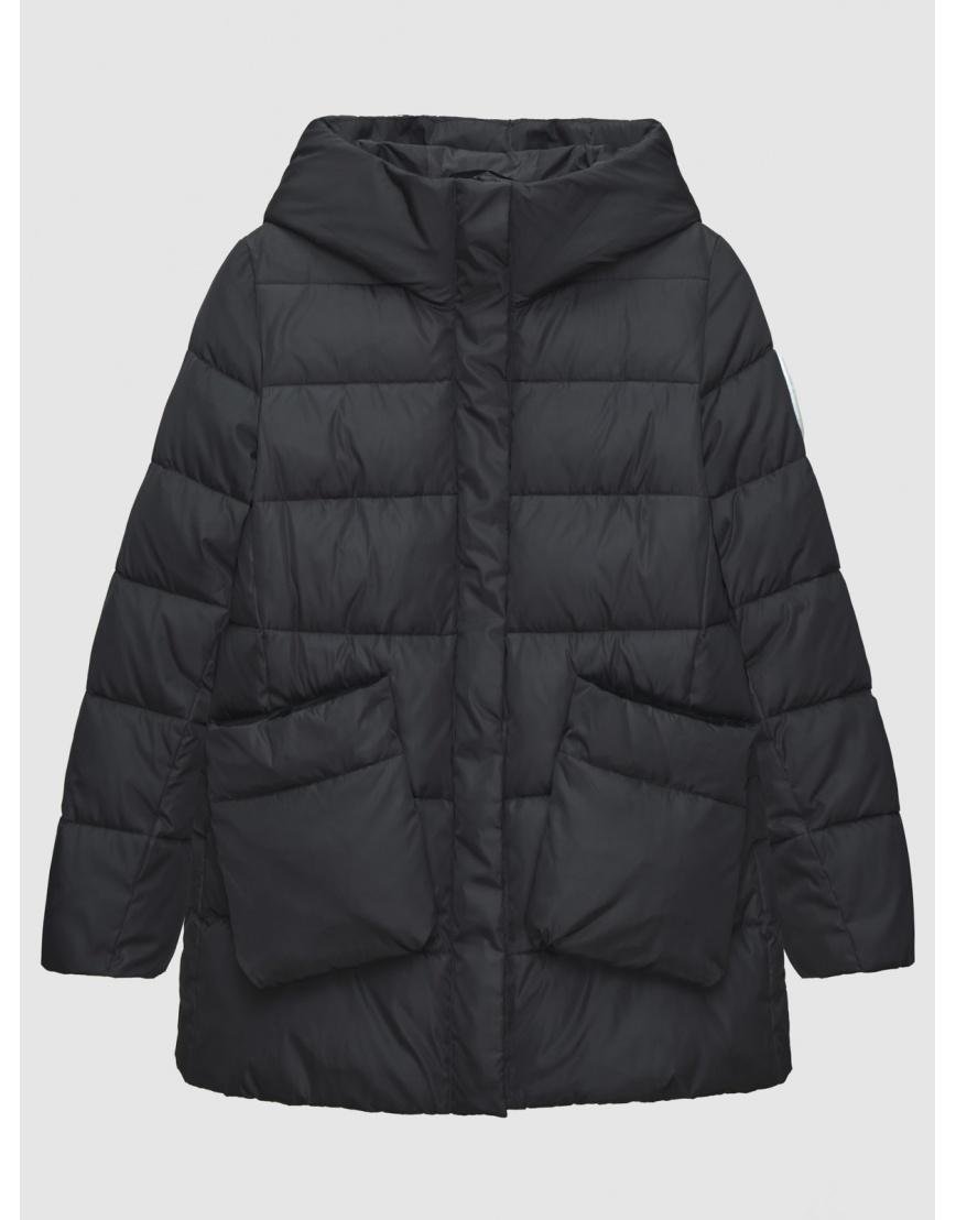 46 (S) – последний размер – чёрная куртка с накладными карманами женская Youth осенняя 200045 фото 1