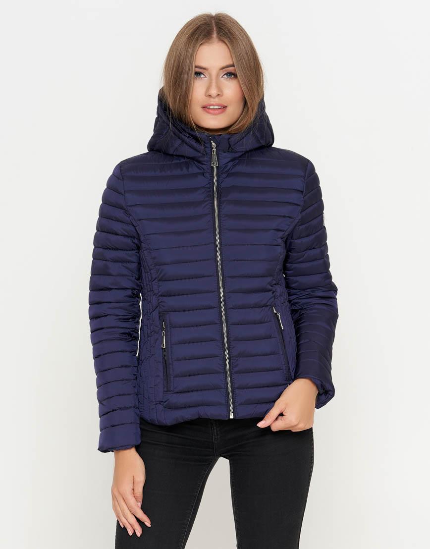 Оригинальная женская куртка цвет синий модель 25093