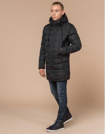 Качественная серая молодежная куртка дизайнерская модель 25300