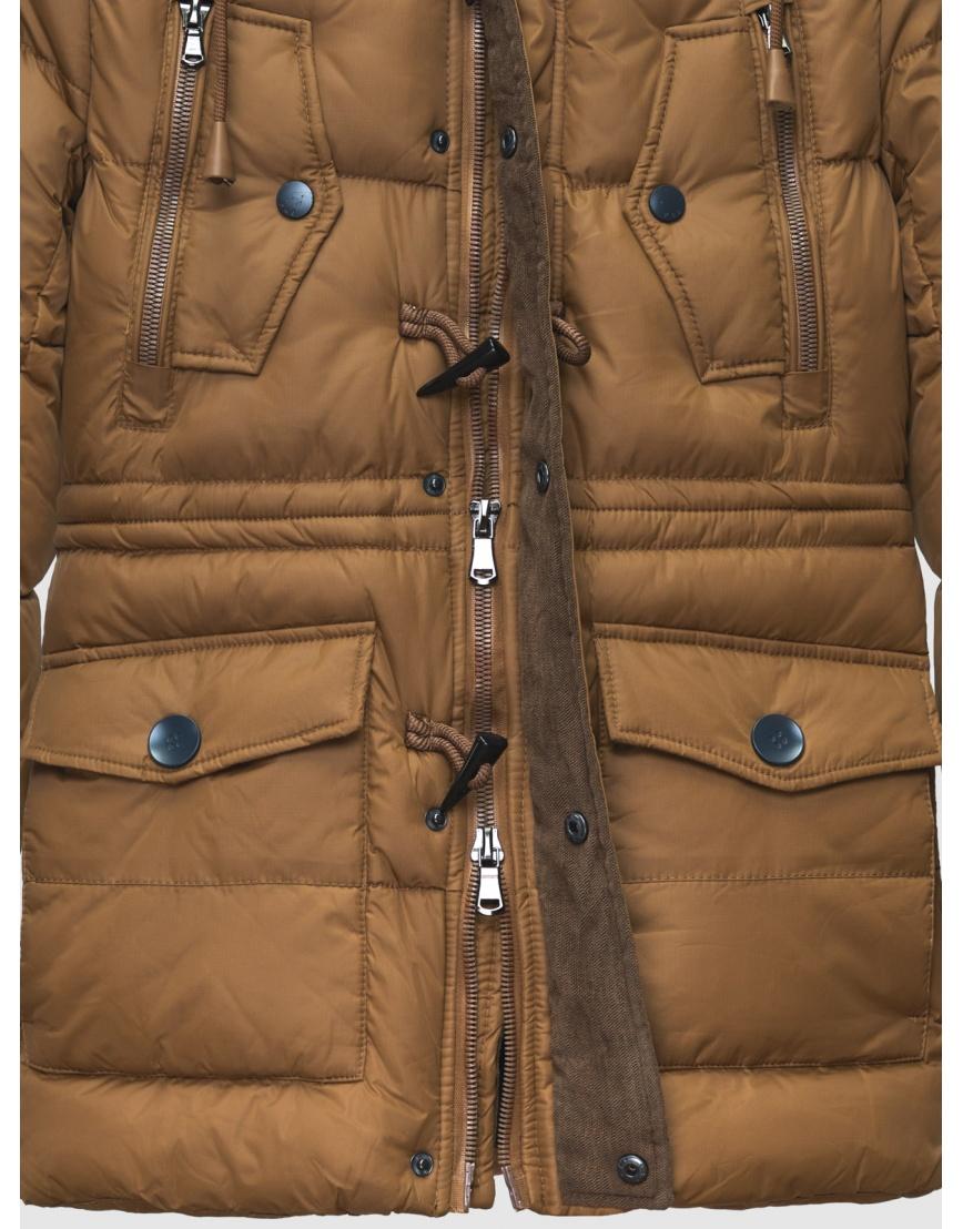 48 (M) – последний размер – пуховик коричневый зимний Pull&Brae мужской тёплый 200070 фото 4
