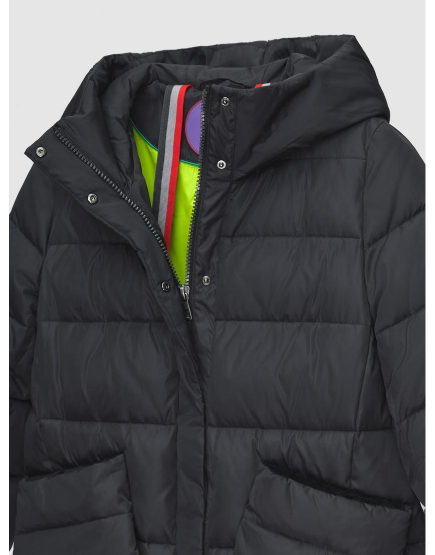 46 (S) – последний размер – чёрная куртка с накладными карманами женская Youth осенняя 200045 фото 3