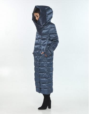Удобная зимняя куртка подростковая Moc цвет синий M6715 фото 1