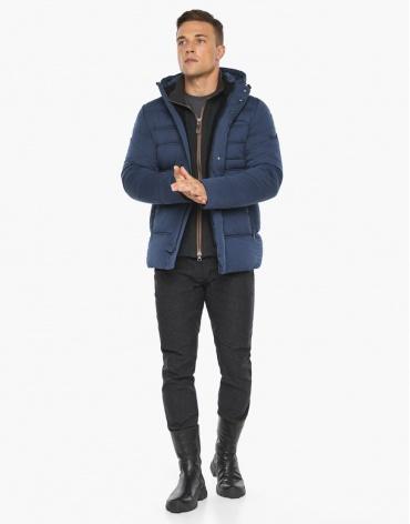 Воздуховик Braggart зимний мужской цвет джинс модель 43520 оптом фото 1