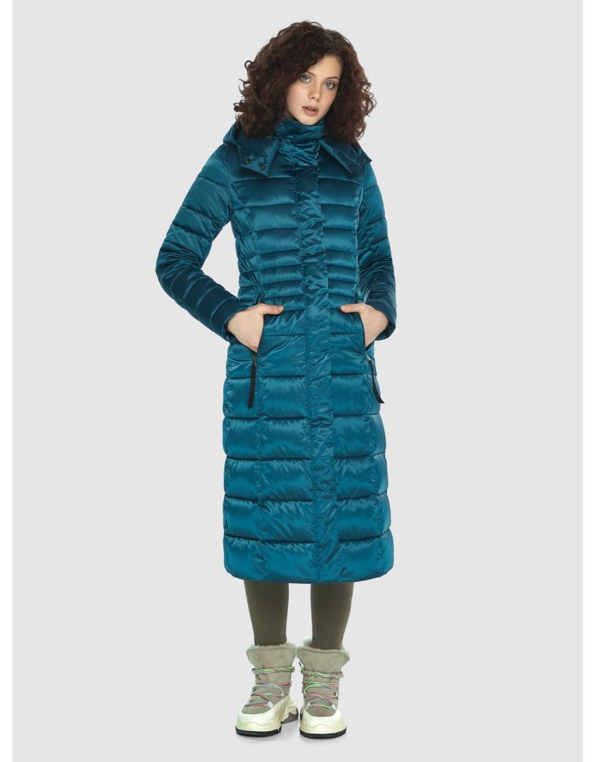 Куртка женская Moc тёплая аквамариновая M6430 фото 1