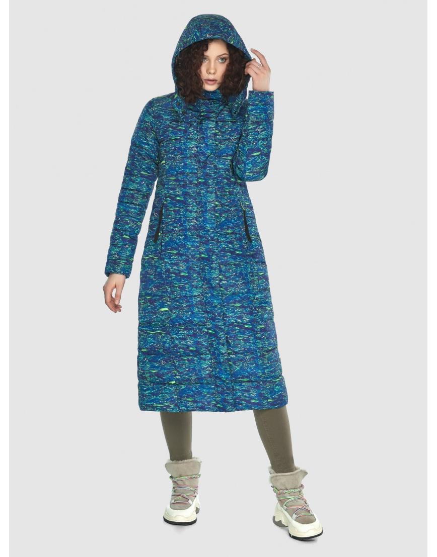 Длинная стильная куртка Moc женская с рисунком M6430 фото 2
