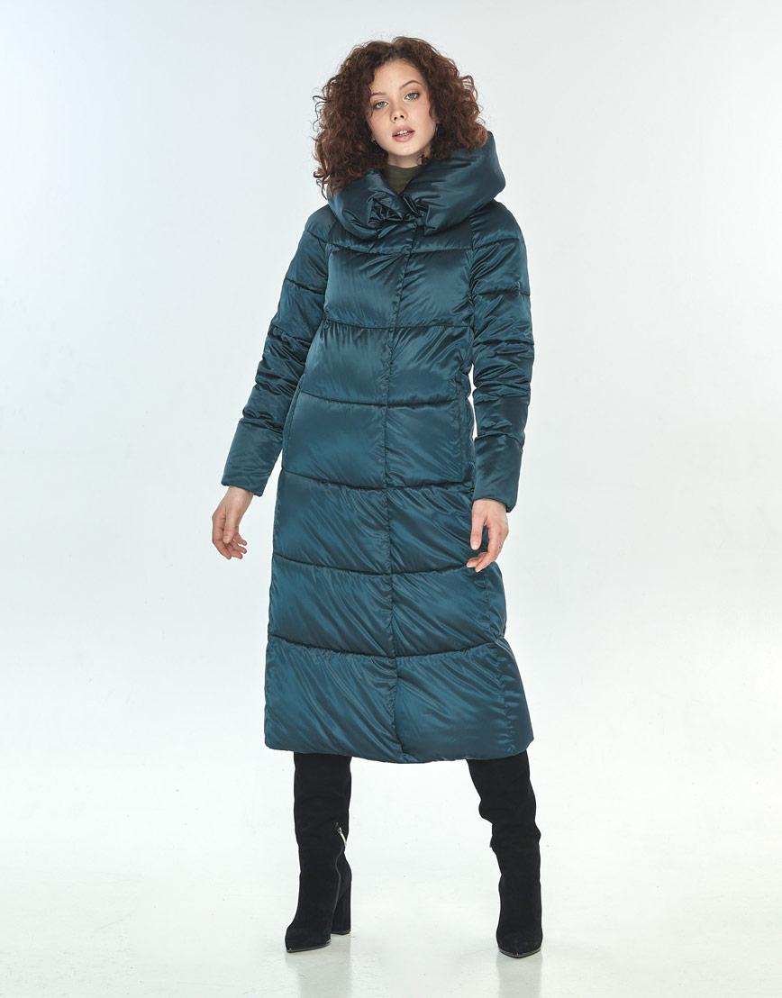 Зелёная куртка женская Moc модная M6530 фото 2