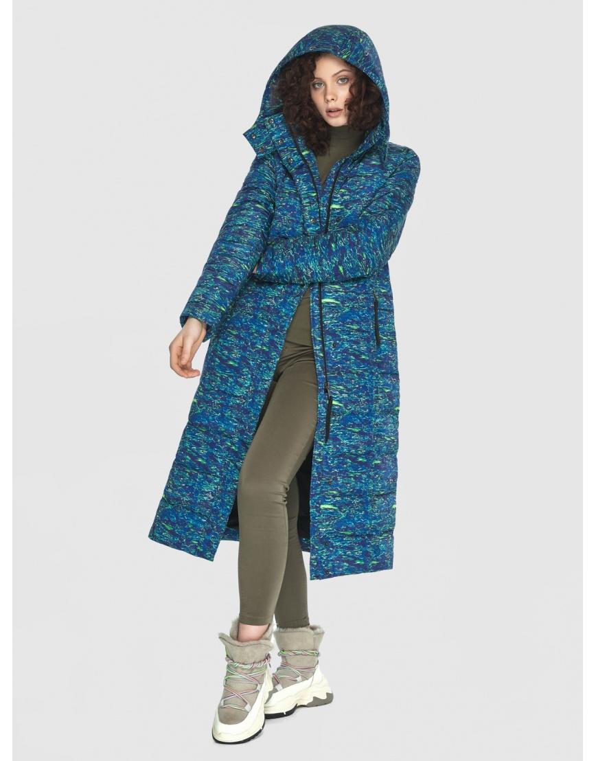 Длинная стильная куртка Moc женская с рисунком M6430 фото 3