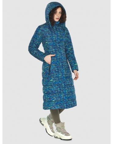 Длинная стильная куртка Moc женская с рисунком M6430 фото 1