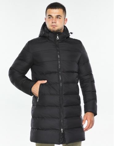 Куртка черная модная мужская модель 42110 фото 1