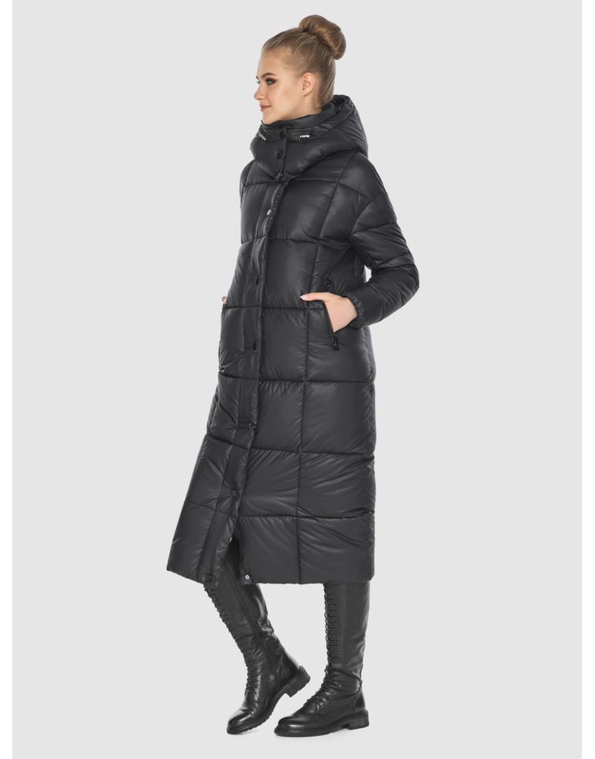 Удобная куртка чёрная зимняя Tiger Force для подростков TF-50247 фото 5