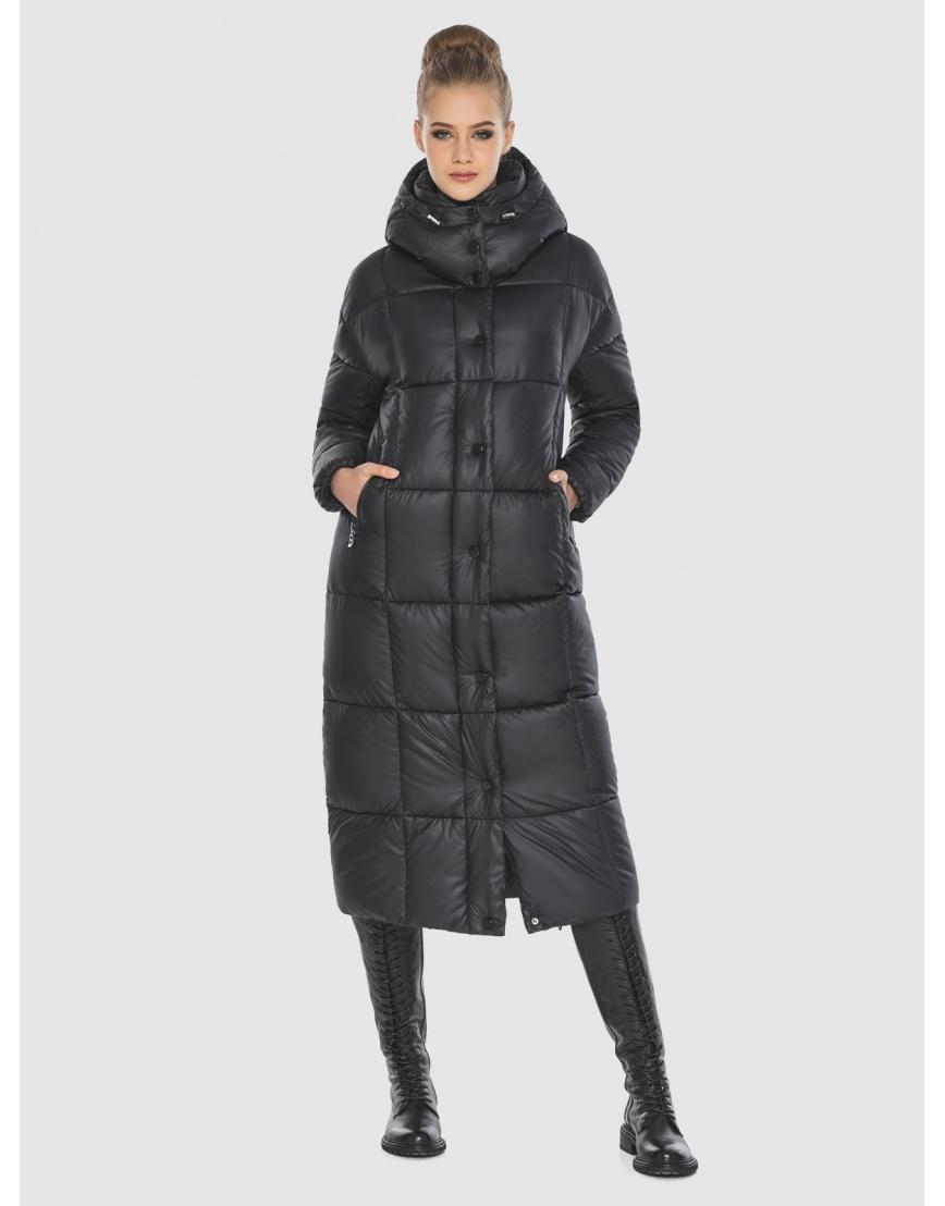 Удобная куртка чёрная зимняя Tiger Force для подростков TF-50247 фото 1