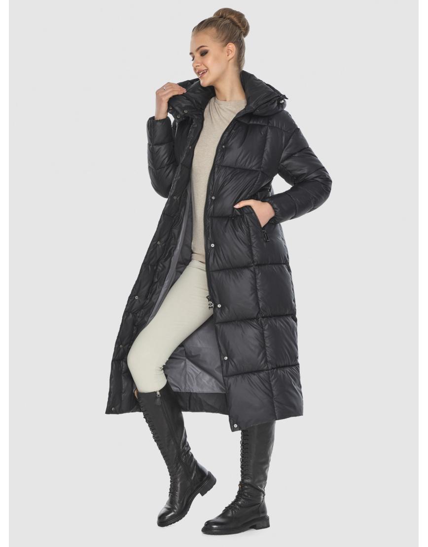 Удобная куртка чёрная зимняя Tiger Force для подростков TF-50247 фото 2