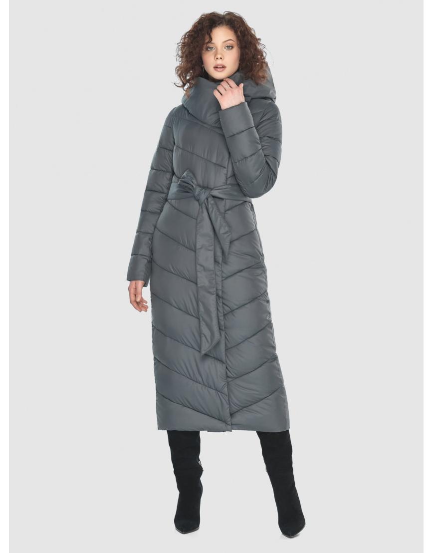 Стильная женская куртка Moc серая M6471 фото 1