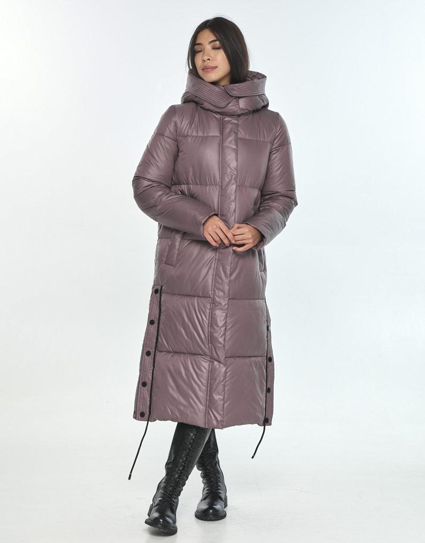 Зимняя оригинальная пудровая куртка подростковая Moc M6874 фото 2