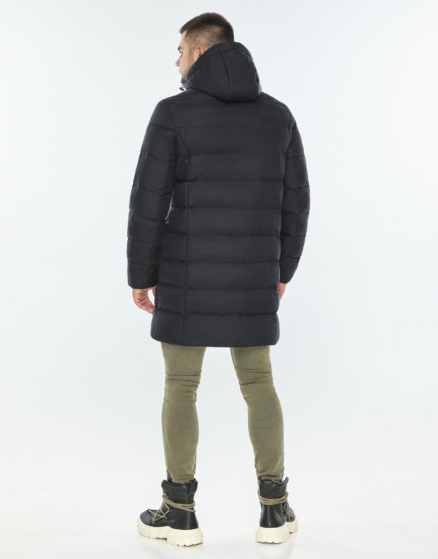 Практичная темно-синяя куртка качественного пошива модель 42110 фото 4