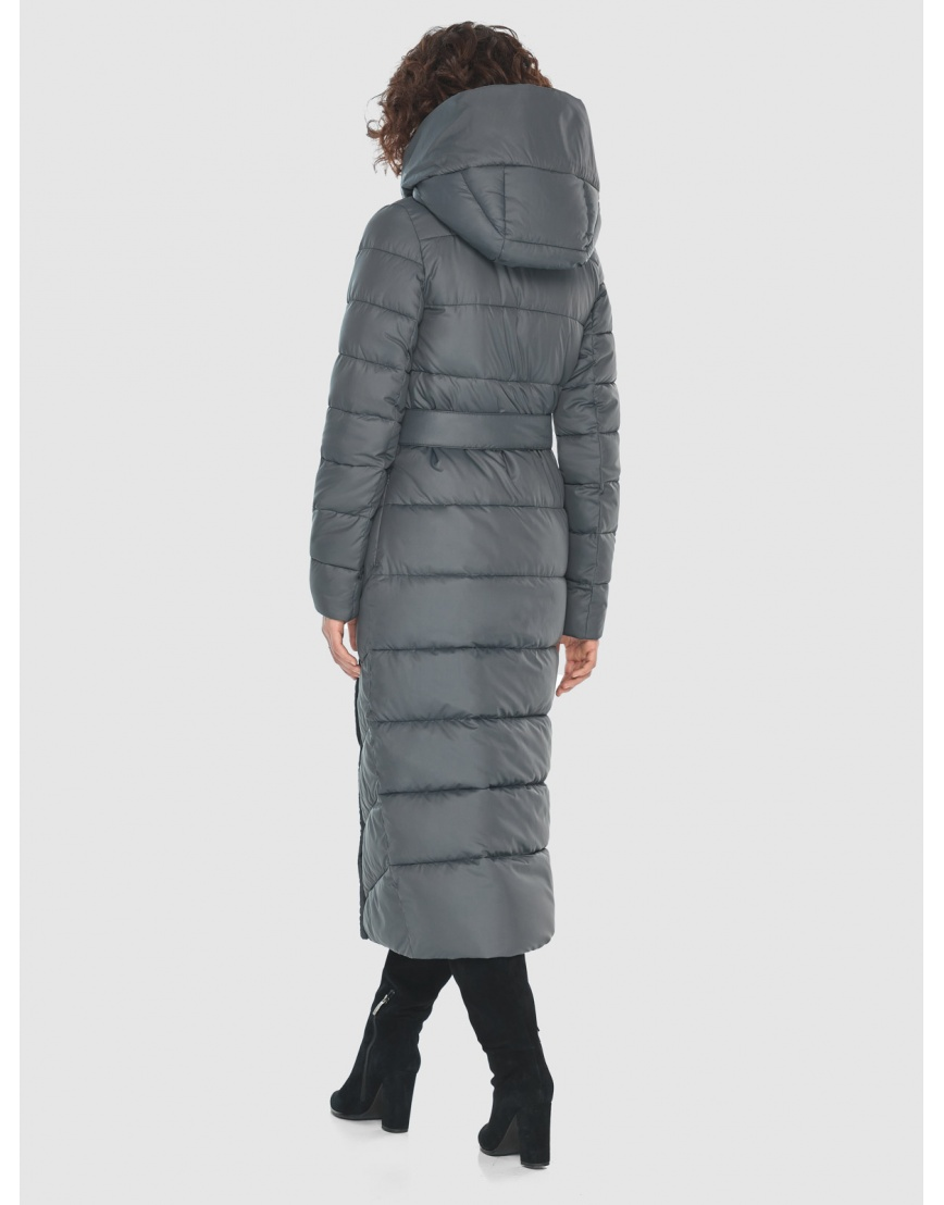 Стильная женская куртка Moc серая M6471 фото 4