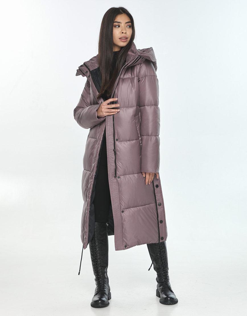 Зимняя оригинальная пудровая куртка подростковая Moc M6874 фото 1