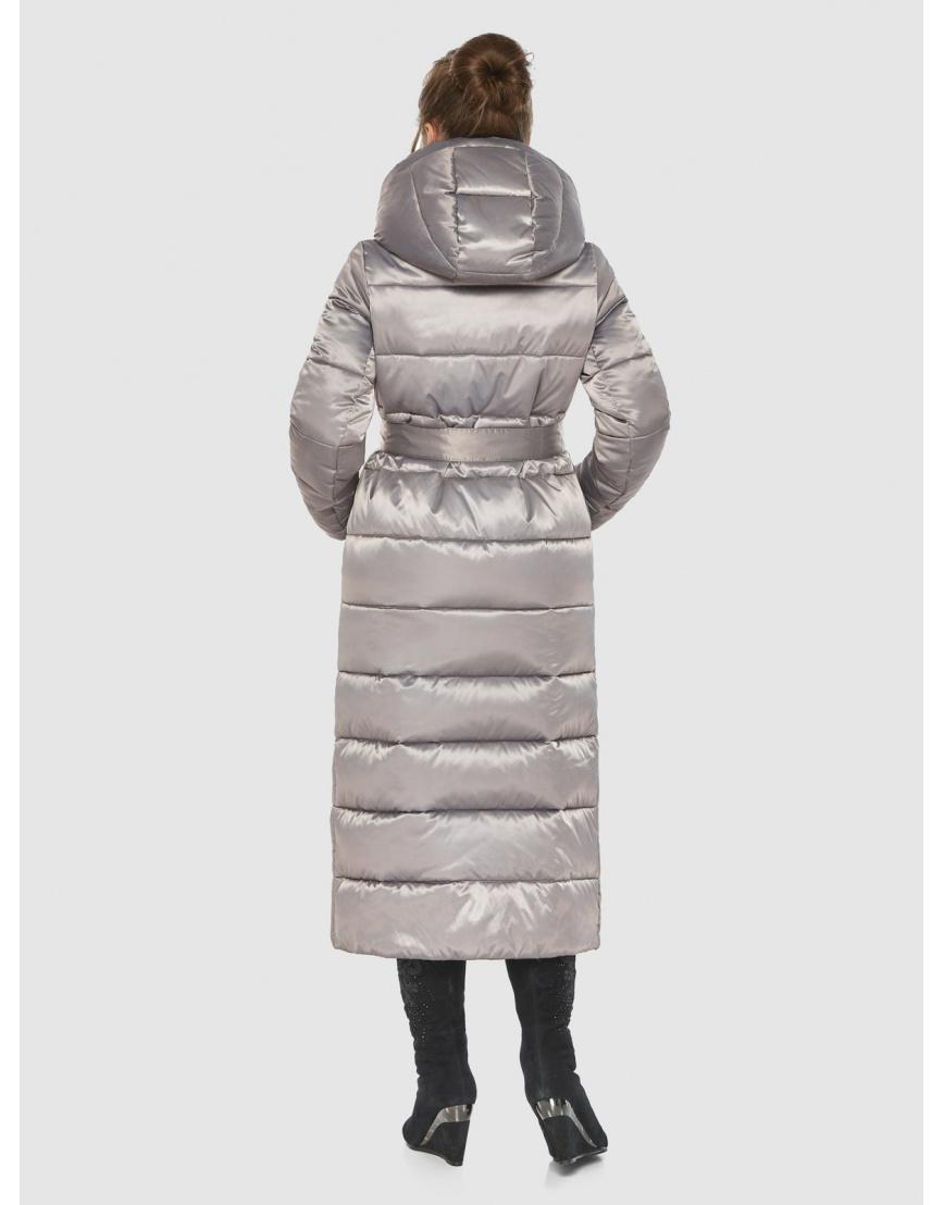 Кварцевая женская удлинённая куртка-пальто Ajento 21207 фото 4
