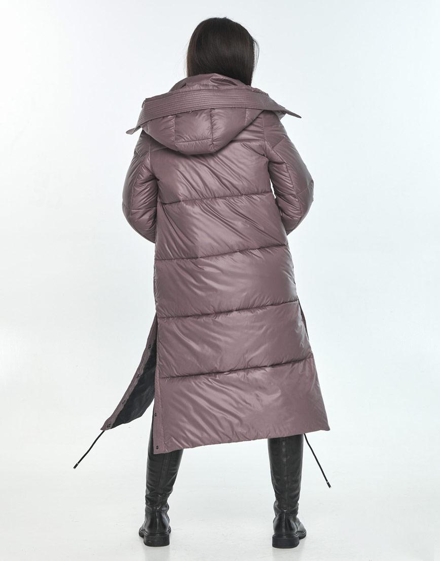 Зимняя оригинальная пудровая куртка подростковая Moc M6874 фото 3