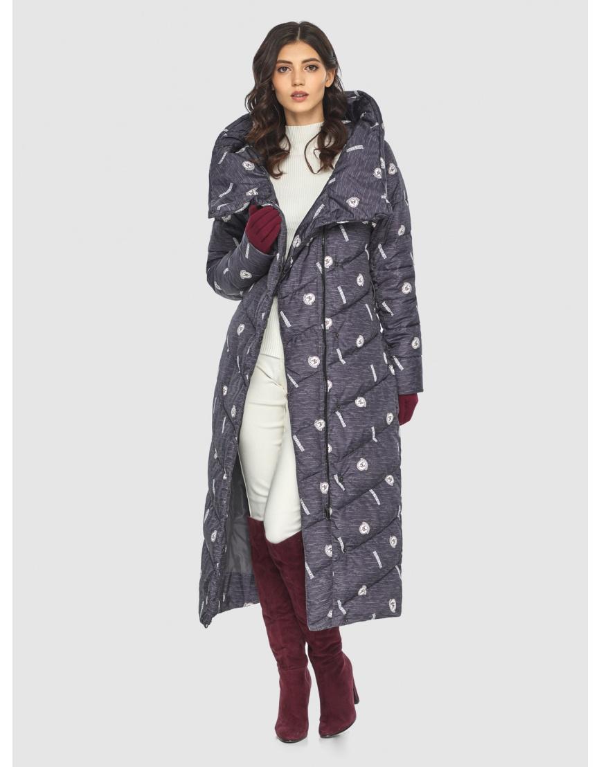 Тёплая куртка с рисунком зимняя Vivacana для подростков-девушек 9405/21 фото 6