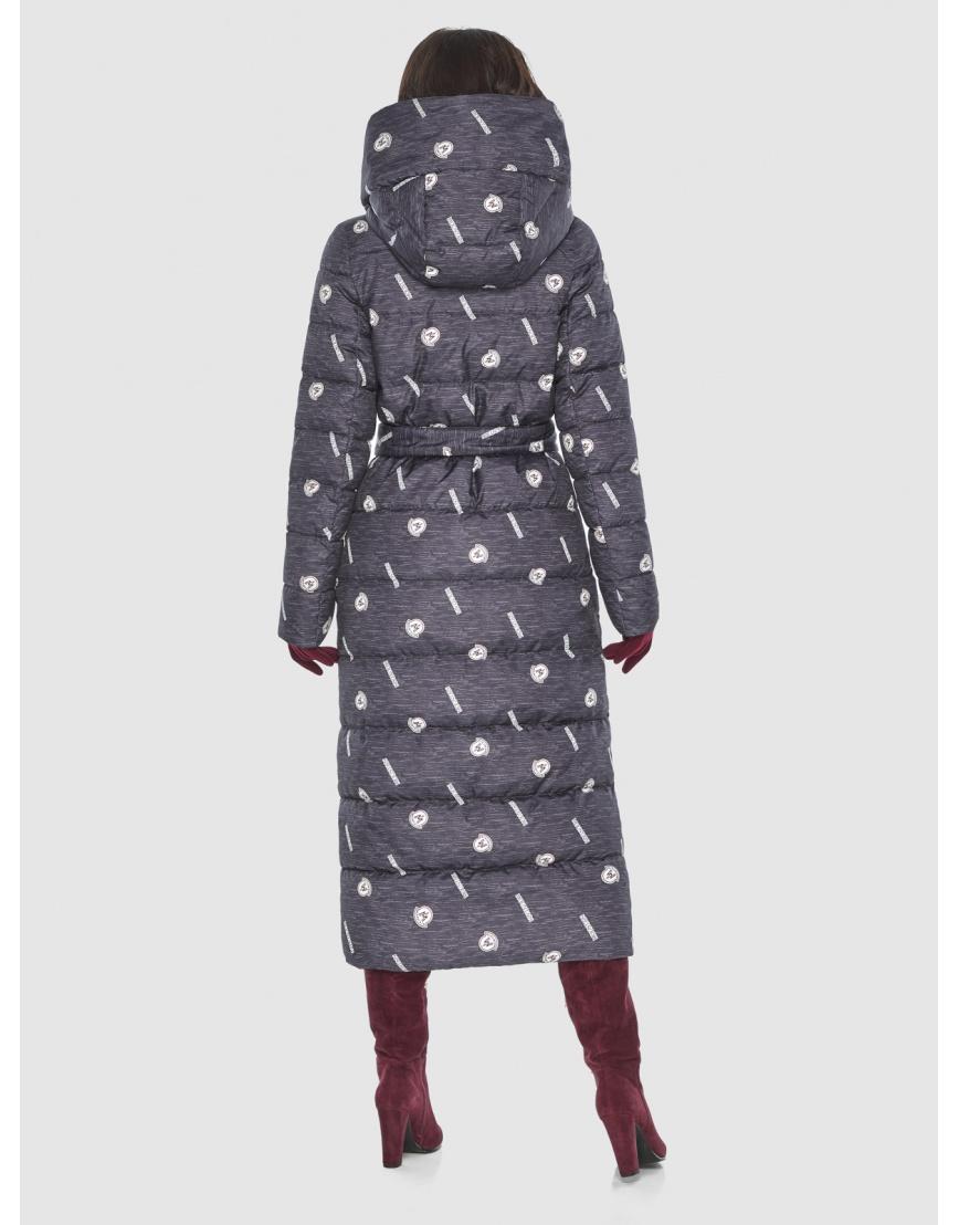 Тёплая куртка с рисунком зимняя Vivacana для подростков-девушек 9405/21 фото 4