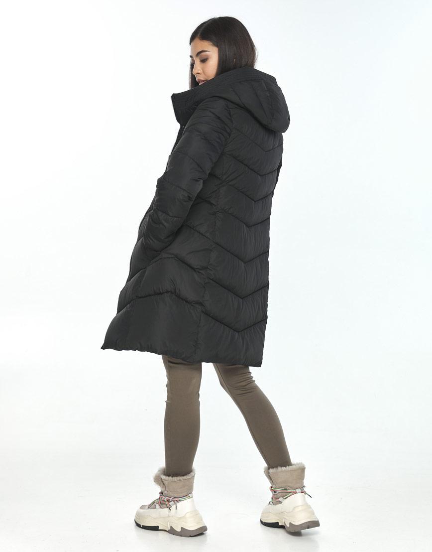 Куртка женская Moc чёрная M6540 фото 3