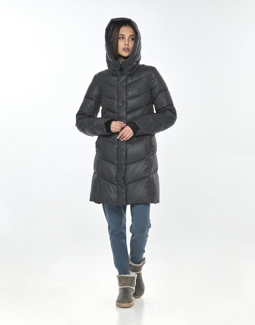 Куртка Vivacana серая практичная женская 7821/21 фото 2