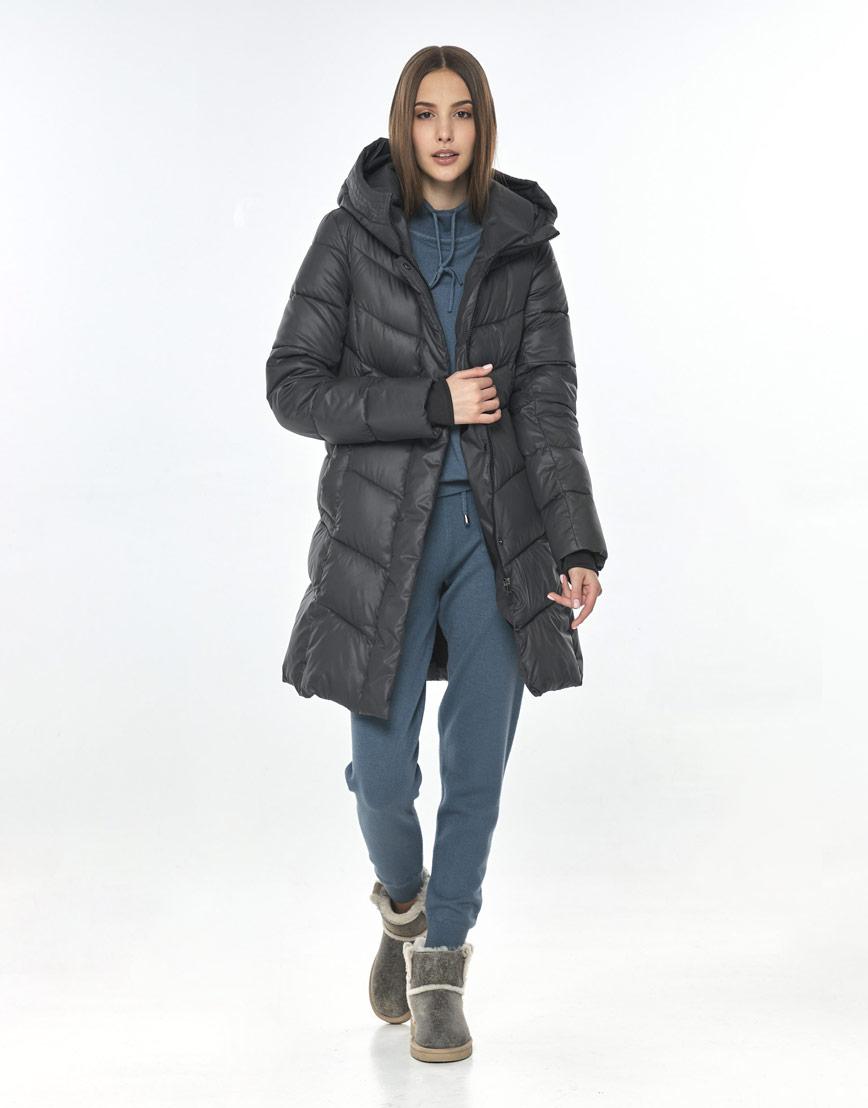 Куртка Vivacana серая практичная женская 7821/21 фото 1