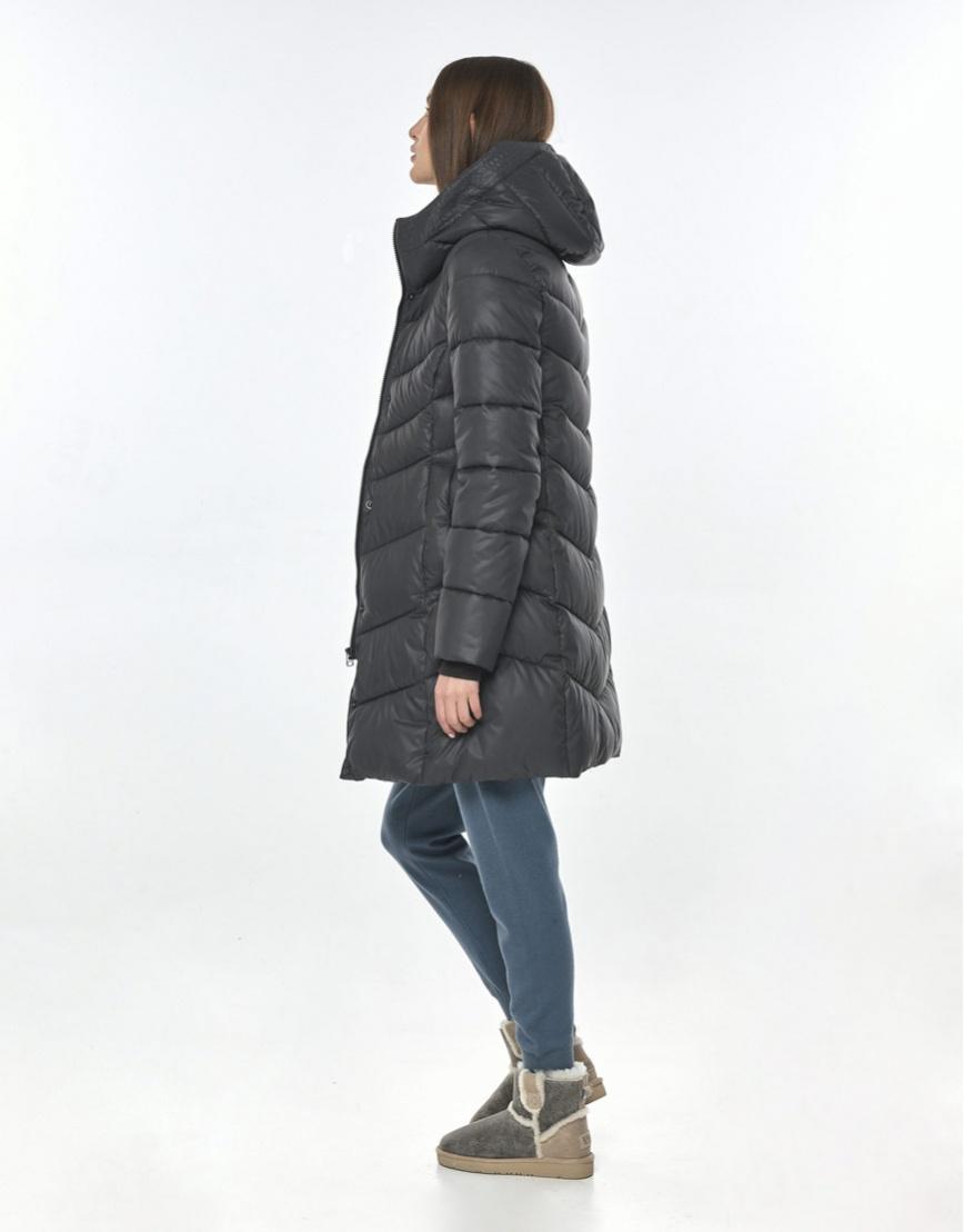 Куртка Vivacana серая практичная женская 7821/21 фото 3