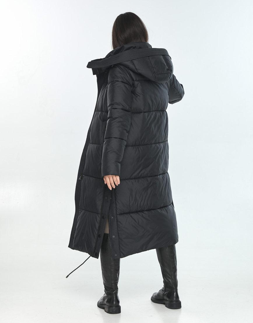 Куртка стильная подростковая Moc для зимы чёрная M6874 фото 3