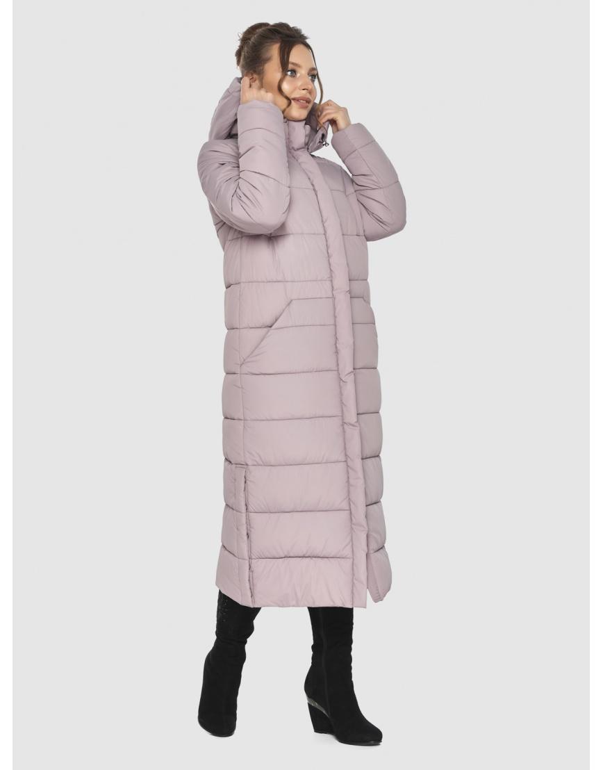 Стильная куртка женская Ajento пудровая 21207 фото 5