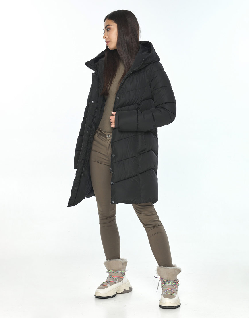 Куртка женская Moc чёрная M6540 фото 2